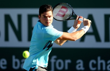 Milos Raonic poursuit son chemin