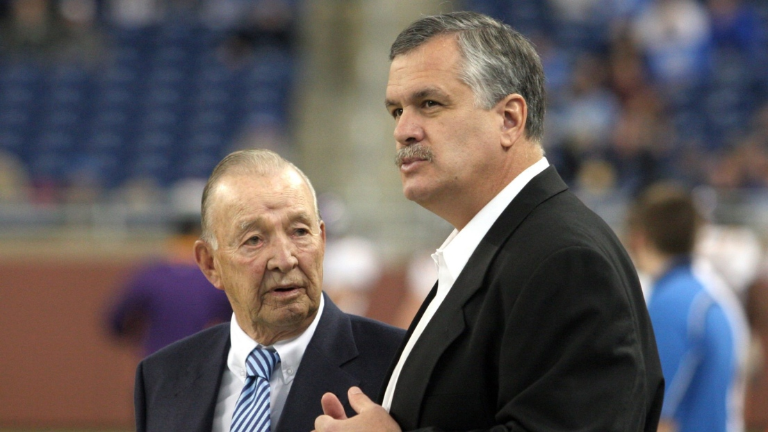 William Clay Ford Senior et Matt Millen