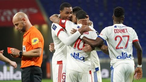 Ligue 1 : Lyon nouveau meneur provisoire