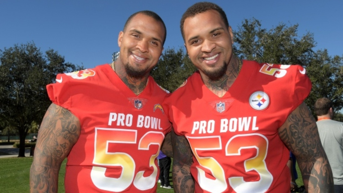 Mike et Maurkice Pouncey
