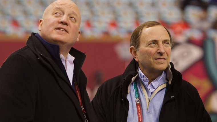 Bill Daly et Gary Bettman