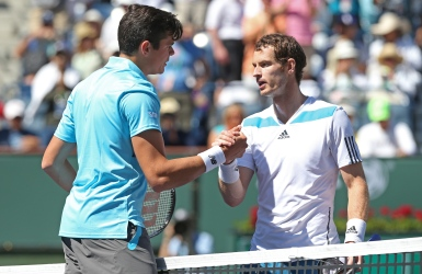 Raonic s'impose contre Murray