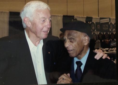 Jean Béliveau et Herb Carnegie