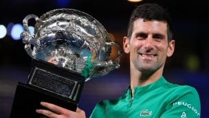 Un neuvième sacre record pour Djokovic