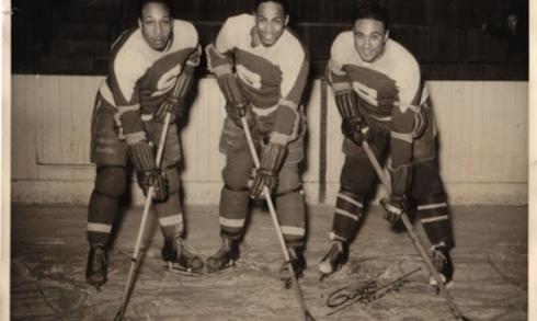 Ossie Carnegie, Herb Carnegie et Manny McIntyre