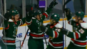 Mooseheads 4 - Eagles 3 (Prolongation)