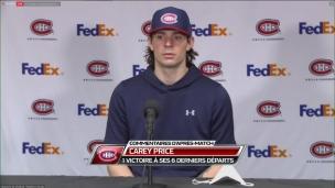 Où est le Carey Price, joueur de concession?