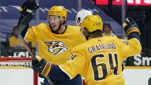 Blue Jackets 1 - Predators 3