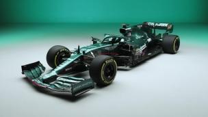 Aston Martin présente sa voiture 2021