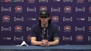 Point de presse de Carey Price