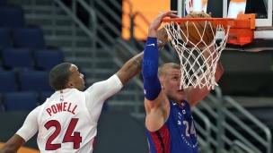 Pistons 129 - Raptors 105