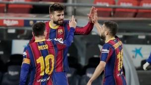 FC Barcelone 3 - Séville FC 0