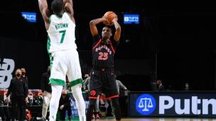 Raptors 125 - Celtics 132