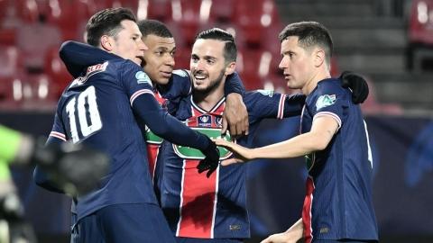 Le Paris SG bat Brest et va en 8e de finale