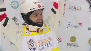 Mikaël Kingsbury de nouveau champion du monde!