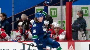 Canadiens 1 - Canucks 2 (tirs de barrage)