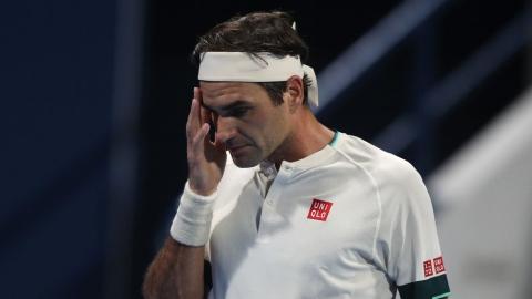 Federer perd quatre places au classement