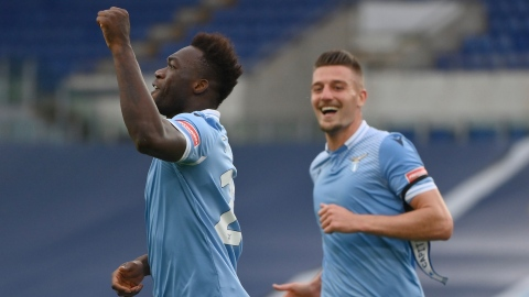 La Lazio souffre et l'Atalanta assure