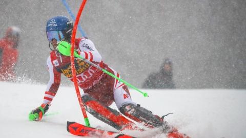 Marco Schwarz assuré du titre en slalom