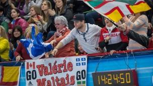 Partisans de Valérie Maltais