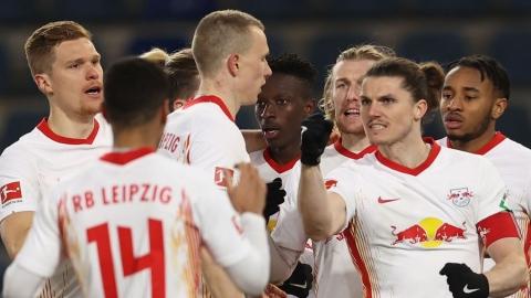 Leipzig revient à un point du Bayern Munich