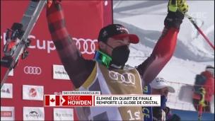 Ski cross : Howden remporte le globe de cristal