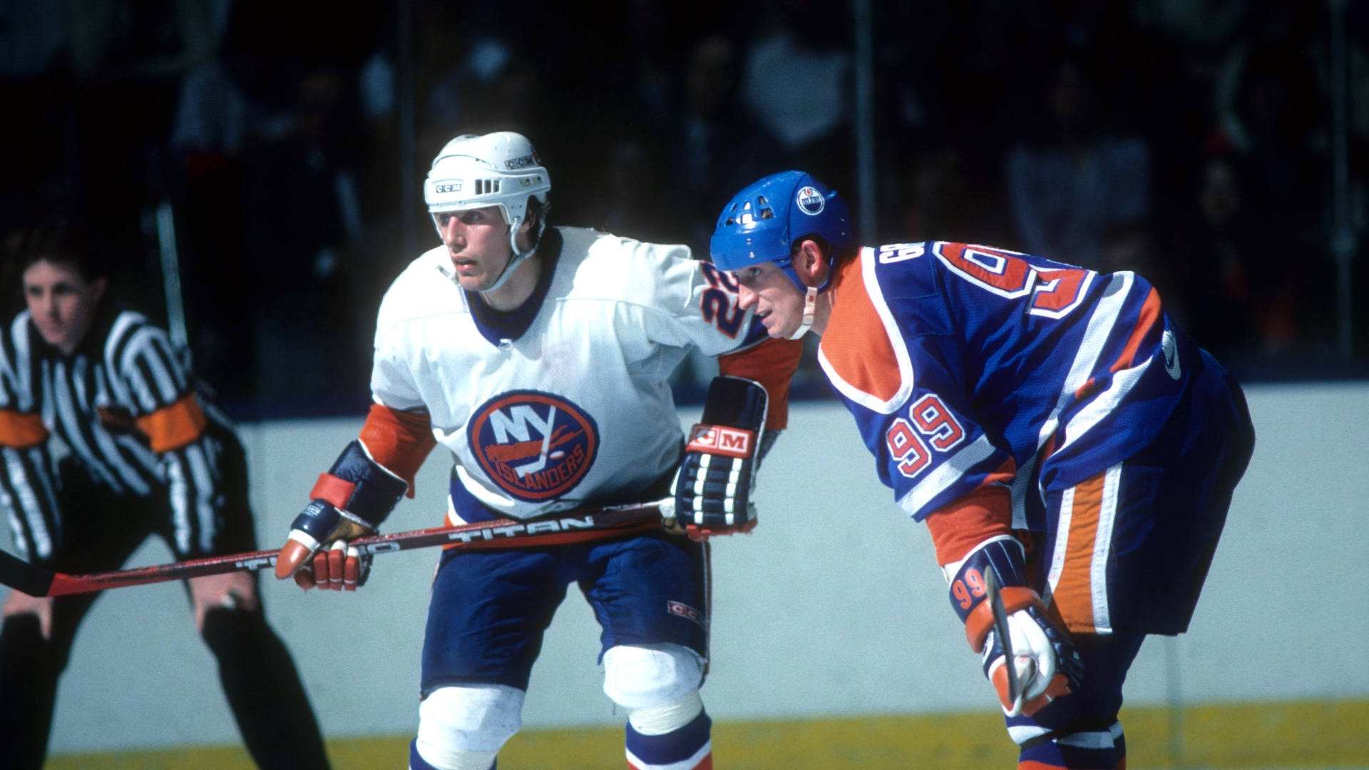 Mike Bossy et Wayne Gretzky