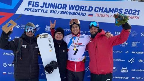 Éliot Grondin champion du monde junior