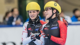 Valérie Maltais et Jessica Hewitt