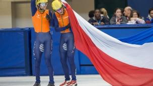 L'équipe masculine de relais néerlandaise