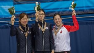 Suk Hee Shim, Seung Hi Park et Valérie Maltais