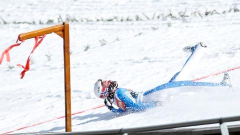 Un skieur dans le coma après une chute