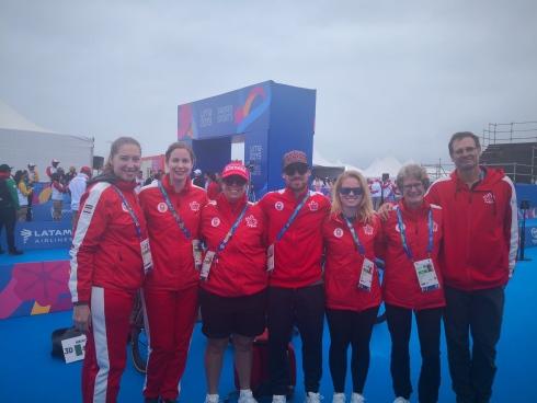 Kyla aux Jeux Panaméricains