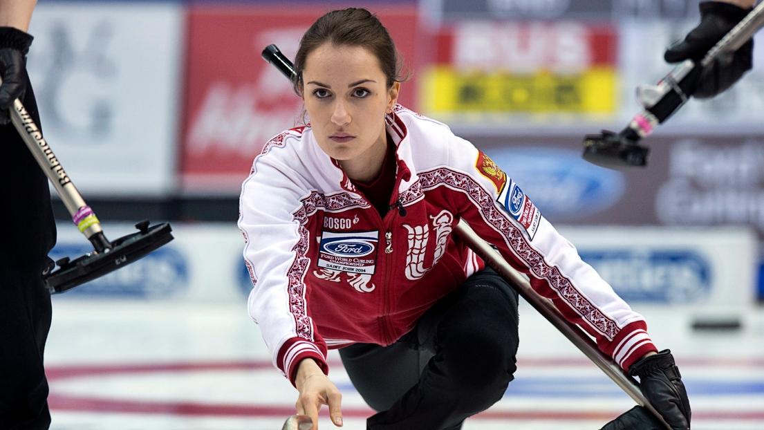 Curling : Anna Sidorova triomphe et affrontera Rachel ...