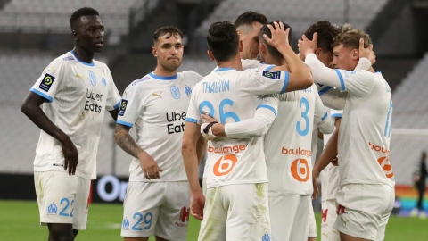 Marseille se rapproche à un point de Lens