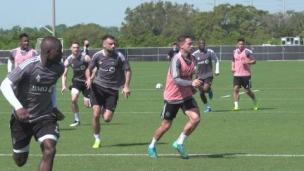 Un premier entraînement à Orlando pour le CFM