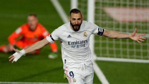 Le Real Madrid meneur au terme du Clasico