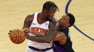 Raptors 96 - Knicks 102