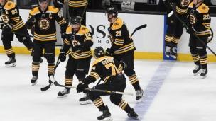 Sabres 2 - Bruins 3 (Tirs de barrage)