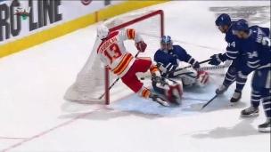 Gaudreau s'envole et brûle les Leafs