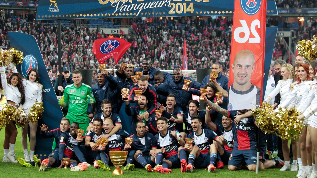 France le paris saint germain est champion de la coupe de la ligue - Coupe de la ligue france ...