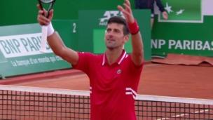 Monte-Carlo : Victoire de Novak Djokovic