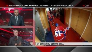 1000 matchs dans la LNH : Milan Lucic en chiffres
