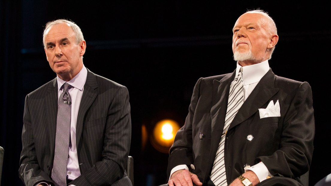 Ron MacLean et Don Cherry