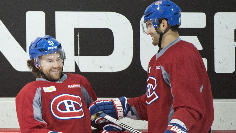 David Desharnais et Max Pacioretty