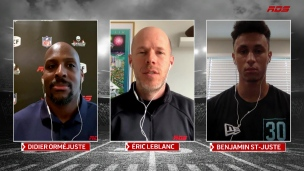 Repêchage NFL : la valeur de St-Juste a grimpé en flèche