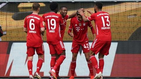 Le Bayern Munich gagne et file vers le titre