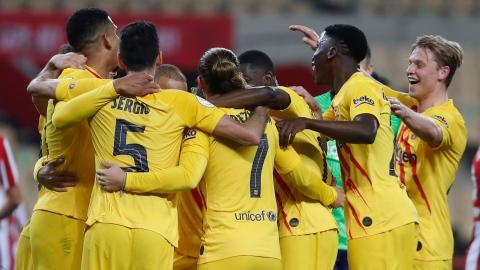 Le FC Barcelone gagne sa 31e Coupe du Roi