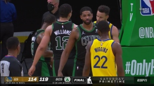 Warriors 114 - Celtics 119