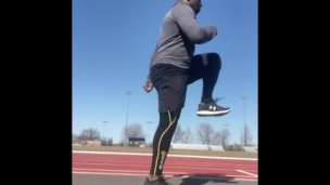 Mouvements d'activation pour les sprints et la course à pied